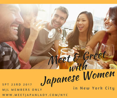 Meet and Greet with Japanese Women in NYC